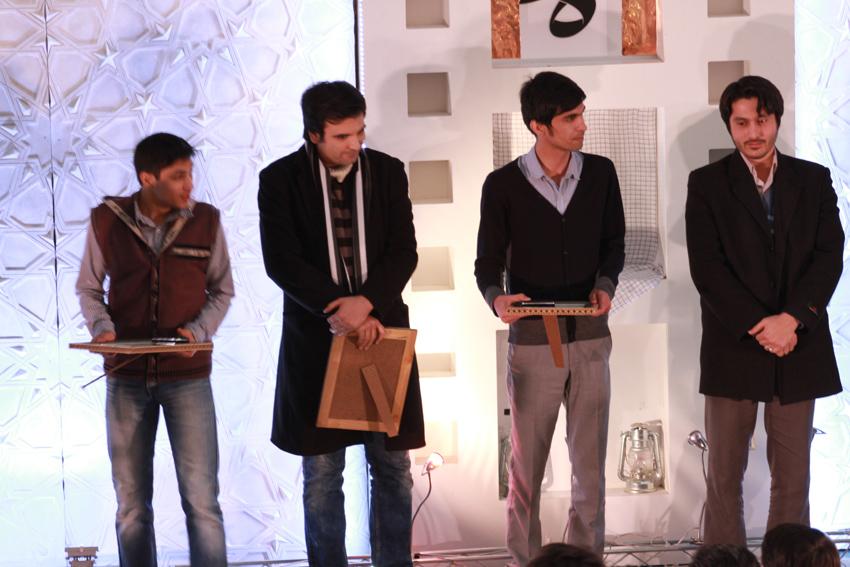 فردین آرش کارگردان برگزیده بخش مسجد ما چهارمین جشنواره مردمی فیلم عمار